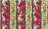 South Sea Wilmington Winter Flowers Repeating Stripe 860-2