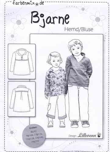 Farbenmix Schnittmuster BJARNE - Hemd/Bluse