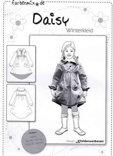 Farbenmix Schnittmuster DAISY - Winterkleid