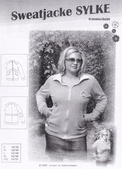 68438e670d961 Dicker Sweatshirtstoff mit weicher Rückseite 60460 Grau meliert
