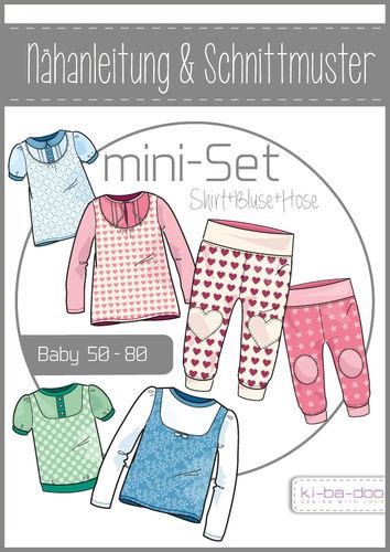 Baby Set Girl - DIN A 0 Schnittmuster und Anleitung als Broschüre