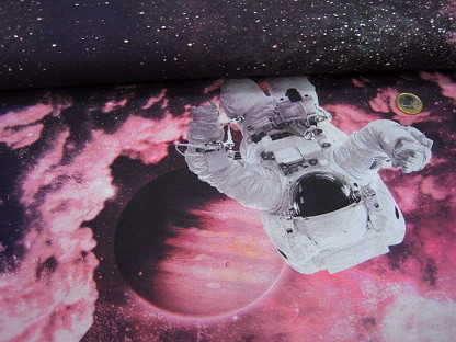 "Stretchjersey ""Dreamscape Space"" Digitaldruck KC7575-014 Lila"