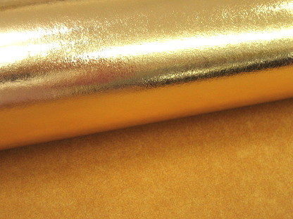 Kreativpapier Nähpappe Metallic 000415 Gold