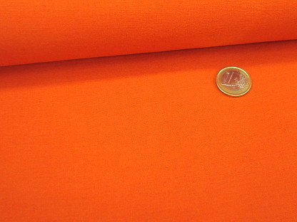 "Stretch-Leinen ""Sorona"" Uni 03803.018 Orange"