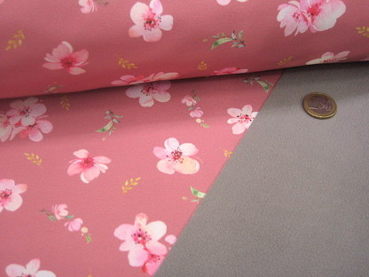 "Softshell ""Cherry Blossom"" digital 08369.005 Altrosa"